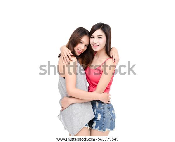 Asian White Girl Lesbian