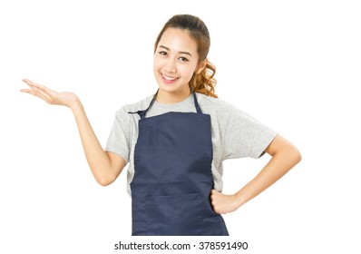 Really. wearing stockings with apron