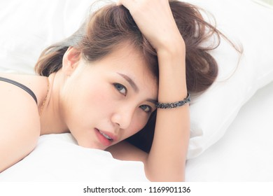 5db08be4436 Asian Woman Wearing Black Lace Bra Stock Photo (Edit Now) 1169901124 ...