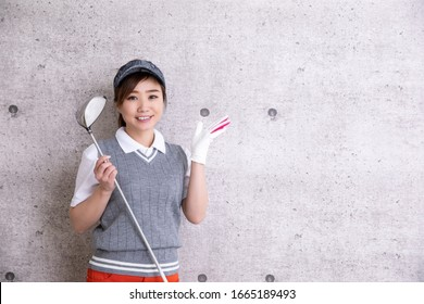 The Asian woman who wore golf wear