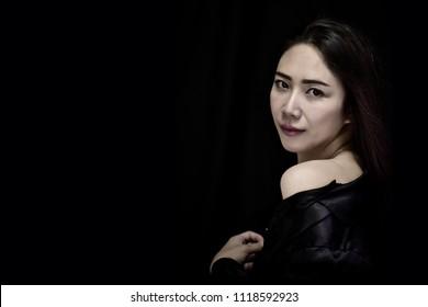 Sexy black asian women