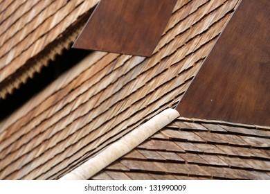 Wooden Shingles Images Stock Photos Amp Vectors Shutterstock