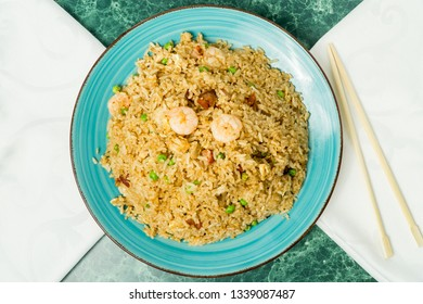 Asian Yeung Show fried rice, Chinese food