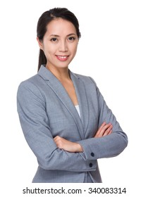 Asian Young beautiful Businesswoman