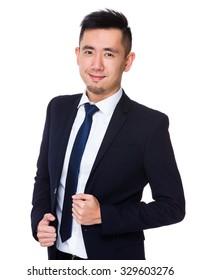 Asian Young businessman