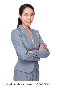 Asian Young Businesswoman portrait
