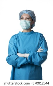 asian young surgeon