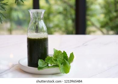 Asiatic Pennywort juice
