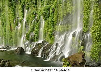 Asik-Asik Falls in Alamada, North Cotabato, Mindanao, Philippines.