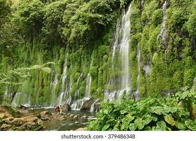 Asik-Asik Falls in Alamada, North Cotabato, Philippines