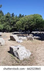 Asklepion. Ruins. the island of KOs. Greece