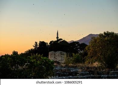 The Aslan Pasha Mosque in Ioannina in Greece