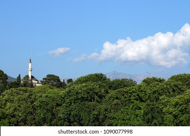 Aslan Pasha mosque Ioannina Greece landscape