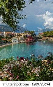 Asos is a village on the west coast of the island of Cephalonia, Greece