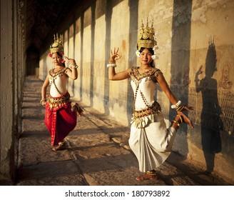 Aspara Dancer at Angkor Wat, Cambodia