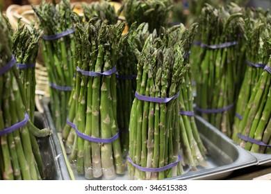 Asparagus Bundles in Water