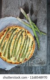 Asparagus Cheese Tarte