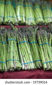 Asparagus at the Farmers Market