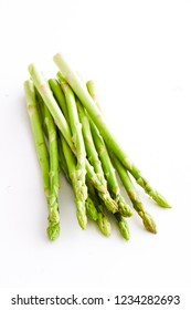Asparagus isolated background