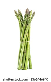 Asparagus in white background