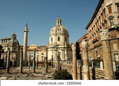 Aspects of Rome, Italy