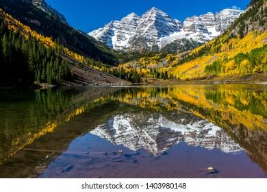 Aspen Colorado during the fall season