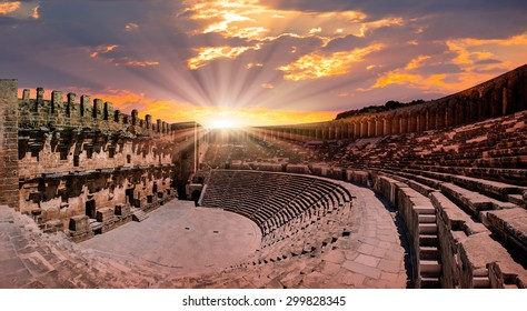 Aspendos amphitheater, Antalya Turkey