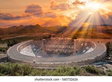 Aspendos amphitheater - Antalya Turkey
