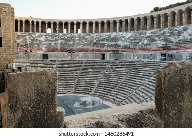 The Aspendos amphitheatre in turkey - Turkey