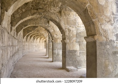 Aspendos - ancient amphiteater historic attraction in Turkey