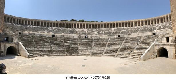 Aspendos History Tarih Antik Antic Thater