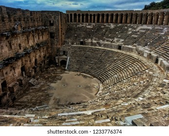 Aspendos Theatre Antalya Turkey