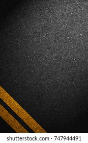 Asphalt as abstract background
