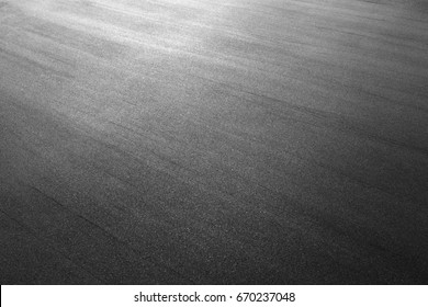 Asphalt background texture. New fresh asphalt black and white