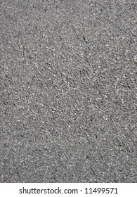 Asphalt detail on a street in the mountains