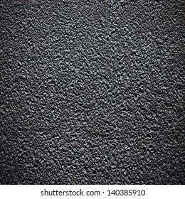 Asphalt grainy surface on road