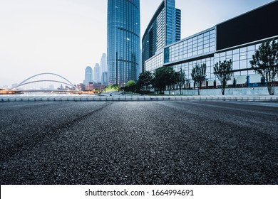 Asphalt road High way Empty curved road clouds and sky at sunset - Shutterstock ID 1664994691