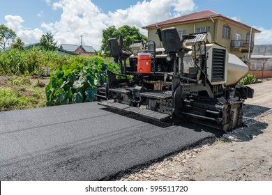 Asphalt road paver paiving machine construction industry roadwork repair