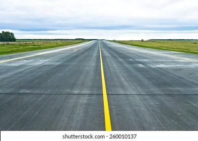 Asphalt road texture strip airport runway