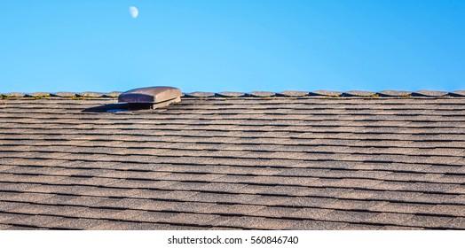 Asphalt Roof & the Sky