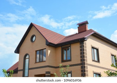 Asphalt shingles single-family house  roofing construction, repair.