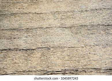 Asphalt surface texture