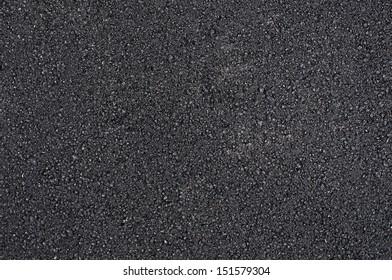 Asphalt texture as urban background, top view
