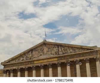 Assemble Nationale of Paris France