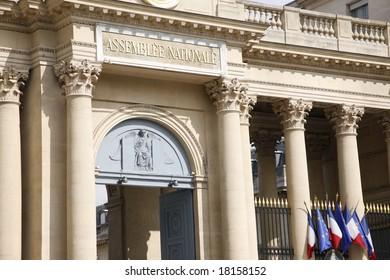 Assemblee national Paris