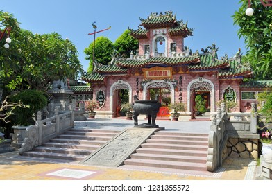 Assembly Hall of Fujian Chinese Congregation temple in Hoi An, Vietnam.