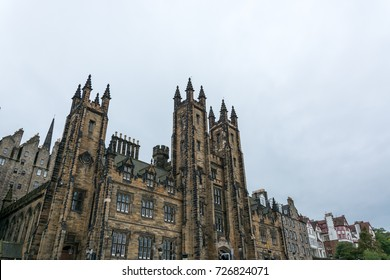 The assembly hall of the New College in Edinburgh, Scotland