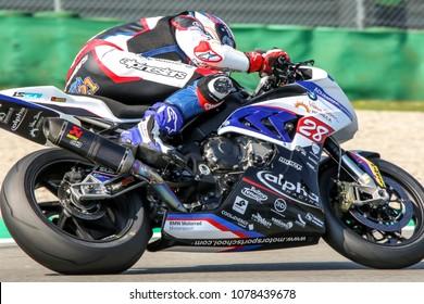 ASSEN, DUTSCH - April, 22. 2018: FIM World Superbike Championship, WSBK, Markus Reiterberger, 21,28, BMW