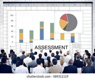 Assessment Bar Chart Pie Chart Statistics