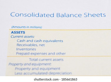 asset on the balance sheet